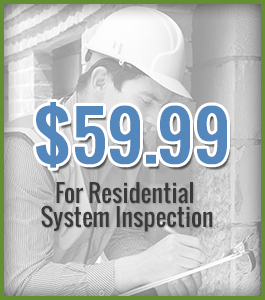 $59.99 - For Residential System Inspection